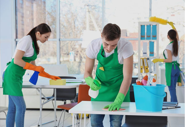 A full range of cleaning services